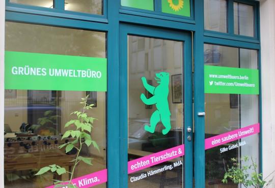 Grünes Umweltbüro in Berlin-Mitte (Bild: Katharina-Franziska Kremkau/Silke Gebel, MdA; CC BY 4.0)