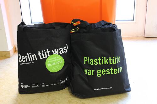 Berlin tüt was Dankeschön-Jutebeutel (Bild: Katharina-Franziska Kremkau / Silke Gebel, MdA; CC BY 4.0)