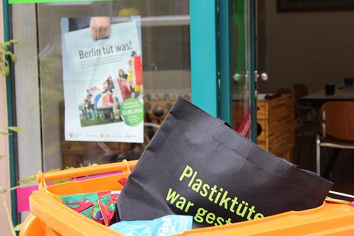 Berlin tüt was Jutebeutel (Bild: Katharina-Franziska Kremkau / Silke Gebel, MdA; CC BY 4.0)