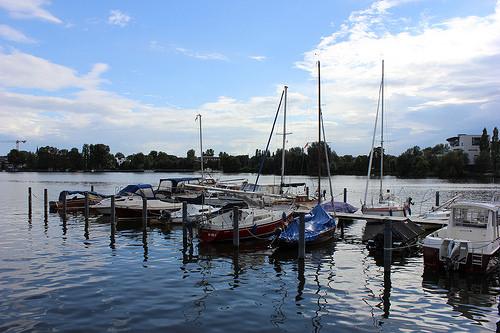 Bootssteg am Rummelsburger See in Berlin (Bild: Katharina-Franziska Kremkau / Silke Gebel, MdA; CC BY 4.0)