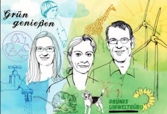 Die drei Ökos vom Umweltbüro (Bild: Bente Schipp)
