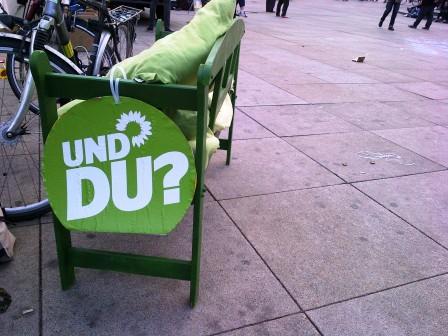 Grünes Plakat (Bild: Silke Gebel, MdA; CC BY-NC-ND 2.0)