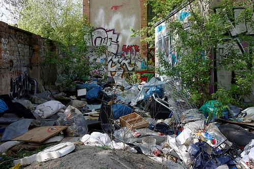 Illegaler Müllberg (Bild: Gregor Kroemer, CC BY-NC-ND 2.0)