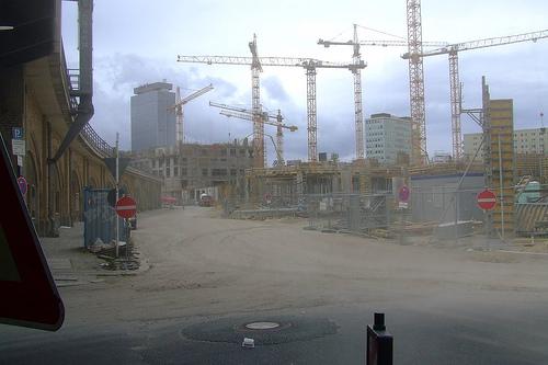 Typische Baustelle in Berlin (Bild: iwashere, CC BY-NC-ND 2.0)