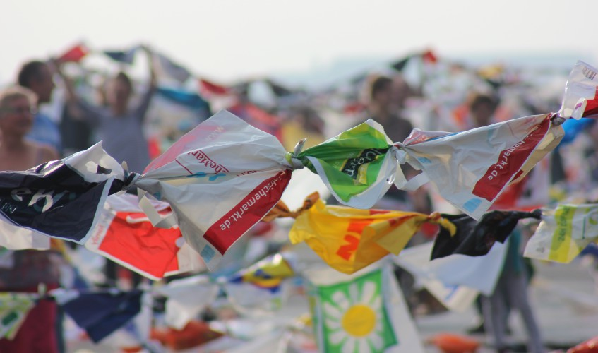 Massen von Plastiktüten in Berlin (Bild: Katharina-Frankziska Kremkau/Silke Gebel, MdA; CC BY 4.0)