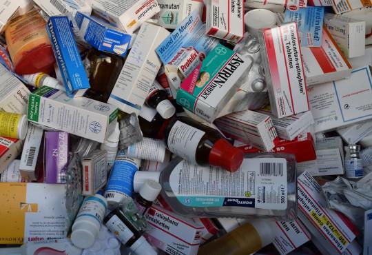 Medikamentenabfall (Bild: Katharina-Franziska Kremau/Silke Gebel-MdA, CC-BY-4.0)