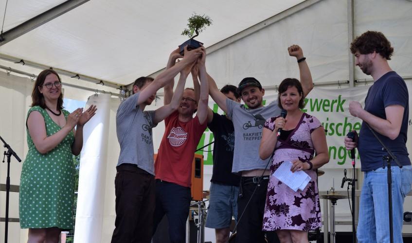 Grüne-Berlin-Preisverleihung-auf-dem-Umweltfestival-mit-Antje-Kapek-u-Stefan-Gelbhaar-Bild-Kremkau-Katharina-Franziska-Silke-Gebel,MdA-CC-BY-4.0