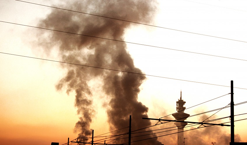 Schlechte Luft - Schlechte Gesundheit (Bild: Angela Schlafmütze, CC-BY-NC-ND-2.0)