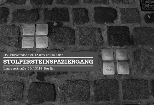 sharepic_stolpersteinspaziergang_in-Berlin_Image: Katharina-Franziska Kremkau / Silke Gebel, Mda (CCBY4.0)